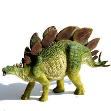 """8"""" Large Realistic Stegosaurus Solid Plastic Dinosaur Figure Educational Toy"""