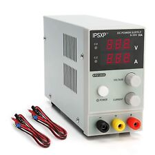 IPSXP KPS1203D - Variable DC Power Supply (0-30 V 0-10 A)