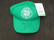 Celtic FC Baseball Cap Brand New With Tags Signed By John Jartson