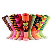 SAMSON® FUNKY SOCKS FOOTBALL SOCCER RUGBY HOCKEY KNEE HIGH KIDS WOMENS MENS GIFT