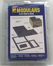 HO Scale Flat Roof & Base Kit - Walthers Modulars #933-3721