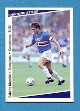 Cards-Figurina/Stickers SHOOTING STARS 91/92-n.351-MANCINI-SAMPDORIA-NEW