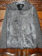 HILARY RADLEY SIZE 4 GENUINE FUR COAT IN GREAT CONDITION ~BEAUTIFUL~