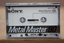 Sony Metal Master 1ct C-90 Metal Bias Cassette Tape - Nakamichi Dolby-S