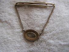 Tack with circular design Vintage Tie Clip Clasp