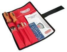 "OREGON CHAINSAW FILING / CHAIN SHARPENING KIT with POUCH 5/32"" 4mm low profile"
