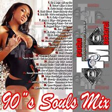 TEACHA & MACKEREL 90'S SOUL R&B  MIX CD