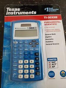 FREE SHIPPING!! Texas Instruments TI-30X IIS 2-Line Scientific Calculator - Blue