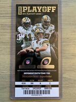 2019 New Orleans Saints vs Philadelphia Eagles NFL Playoff Ticket Stub 1/13