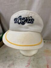 Vintage visors White KOWB
