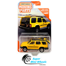 Matchbox 2020 Moving Parts - 2000 Nissan Xterra Yellow