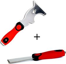 Cuchillo de masilla + Cuchillo herramienta multi   raspador cincel salsas Multiuso rígido