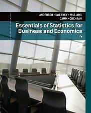 Essentials of Statistics for Business and Economics by Sweeney, Dennis, Williams