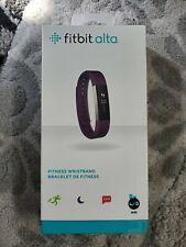 Fitbit Alta Fitness Tracker, Plum, Large
