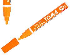 Orange Permanent Oil Based Paint Pen Car Bike Tyre Tire Metal Marker waterproof