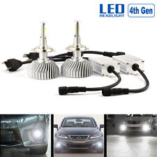 60W 6000LM H7 6000K LED Headlight 12V Car Upgrade Conversion Bulbs kit White