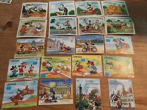 Walt Disney Stamps Micky Mouse