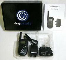 New listing DugCandy 998Dr Dog Training Bark Collar Pet Trainer Remote Waterproof - New
