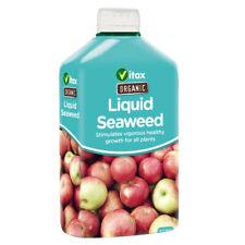 Vitax Organic Liquid Seaweed 500ml Natural Fertiliser Plant Food Flowers Trees