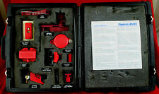 Thomas & Betts Electrical Lockout Devices Salesman's Sample Case w Products LOOK