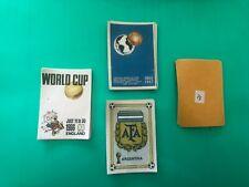 PANINI FIFA WORLD CUP STICKERS ARGENTINA 1978 WM 78 COMPLETE YOUR ALBUM PLATINI