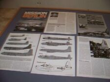VINTAGE.. BERLIN AIRLIFT... PART 1..HISTORY/PHOTOS/PROFILES..RARE! (481J)