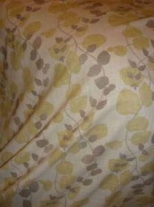 Lime Green Curtain Fabric 2.5 Mt Villa Nova DELAWARE Fabric