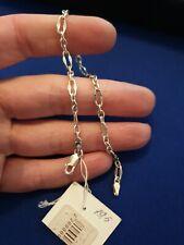 925 Silver Bracelet. 19.5cm.