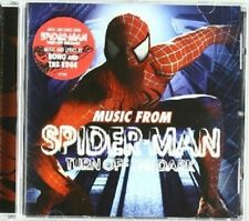 THE ORIGINAL CAST - SPIDER-MAN TURN OFF THE DARK  CD 14 TRACKS SOUNDTRACK NEU