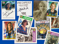 CHARITY SALE: 10 Doctor Who autographs, some v rare: Freema,Lalla,KatyM,Daphne