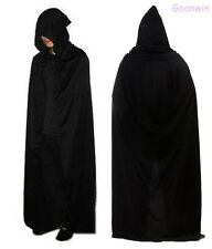 Halloween Cape Death Devil Long Hood Cloak Tippet Fancy Dress Costume Party Prop