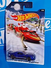 Hot Wheels 2015 Wal-Mart Holiday Hot Rods 3/6 '10 Ford Shelby GT500 Supersnake
