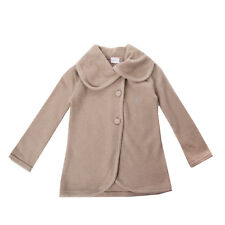 LA PERLA Cardigan Size 4Y Beige Button Front Collared Made in Italy RRP €180