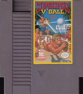 SUPER SPIKE V'BALL (1990) nes nintendo superspike volley technos NTSC USA IMPORT