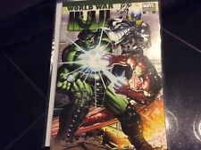 WORLD WAR HULK #1 ROMITA JR VARIANT SIGNED BY JOHN ROMITA JR