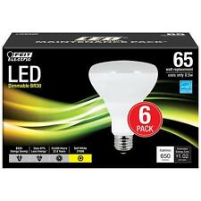 Feit Electric BR30 8.5W (65W) Soft White Dimmable LED Light Bulb (6-Pack)