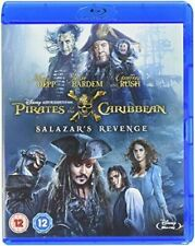 Pirates of The Caribbean Salazars Revenge UK BLURAY