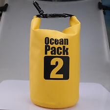HOT 2L Waterproof Dry Bag Outdoor Sport Swimming Rafting Kayaking Sailing Canoe