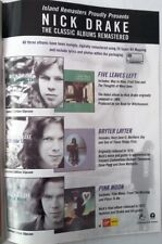 NICK DRAKE 'Albums' magazine ADVERT/Poster/Clipping 11x8 inches
