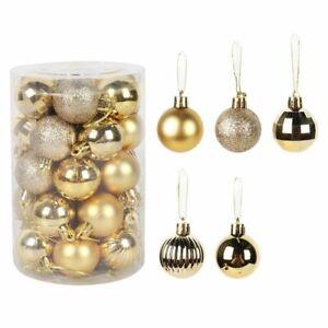 Assorted Color Christmas Balls Christmastree Decorations Hanging Tree Pendants