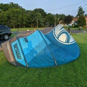 12 meter Cabrinha Switchblade Kite and Bag 2018 Blue Kitesurfing 12m No repairs