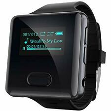 Mp3 & Mp4 Players Clip With Bluetooth,16Gb Running Watch Fm Radio Pedometer Tws