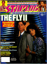 March 1989 STARLOG # 140 The Fly 2 on cover (vg)