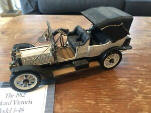 Franklin Mint 1912 Packard Victoria 1:24 Die-cast Model