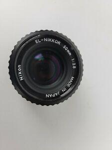 Nikon EL-NIKKOR 1:2.8 50mm Made in Japan, Enlarger Lens, Great Condition!