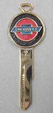 Vintage Chevrolet Yellow Gold Crest  Key B-48-A  67 71 75 79 83 NOS Key Rare