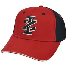 Izod Clothes Brand Name Classic Logo Sun Buckle Adjustable Red Blue Hat Cap