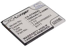 3.7V battery for Alcatel One Touch 918, One Touch 909, OT-990 Chrome, OT-990 Car