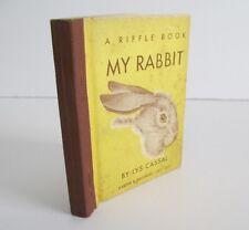 MY RABBIT by Lys Cassal, 1950 Riffle Book, Rare  Flip Book