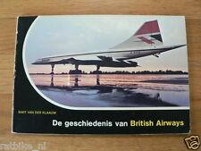 DE GESCHIEDENIS VAN BRITISH AIRWAYS,CONCORDE AIRPLANE,SHORT SOLENT BOAC,DOUGLAS
